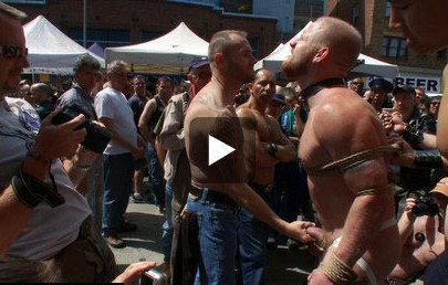 Gay Nudity At Public Rally